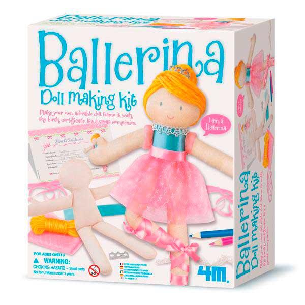 Набір для створення ляльки 4M Балерина (00-02731)