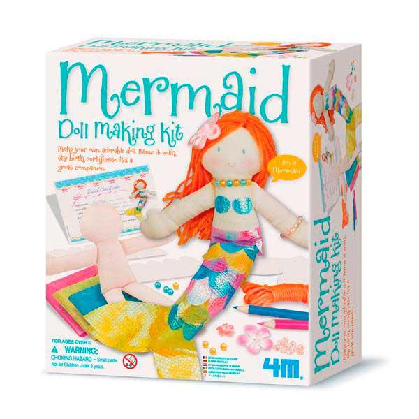 Набір для створення ляльки 4M Русалка (00-02733)