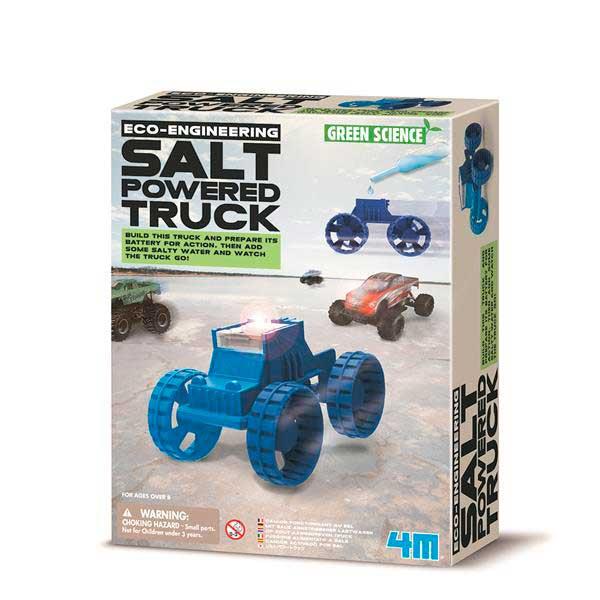 Вантажівка на енергії солі своїми руками 4M (00-03409)