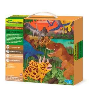 3D-пазл 4M Динозаври (00-04668)