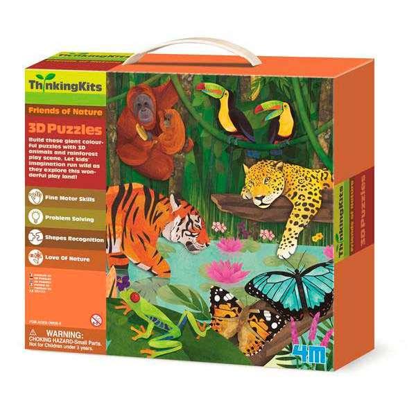 3D-пазл 4M Тропічний ліс (00-04678)