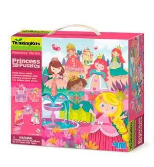 3D-пазл 4M Принцеси (00-04718)