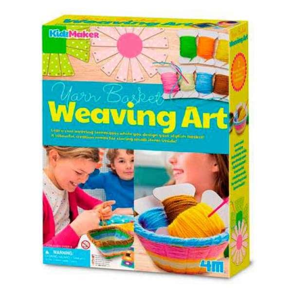 Набір для плетіння кошиків із пряжі 4M (00-04757)