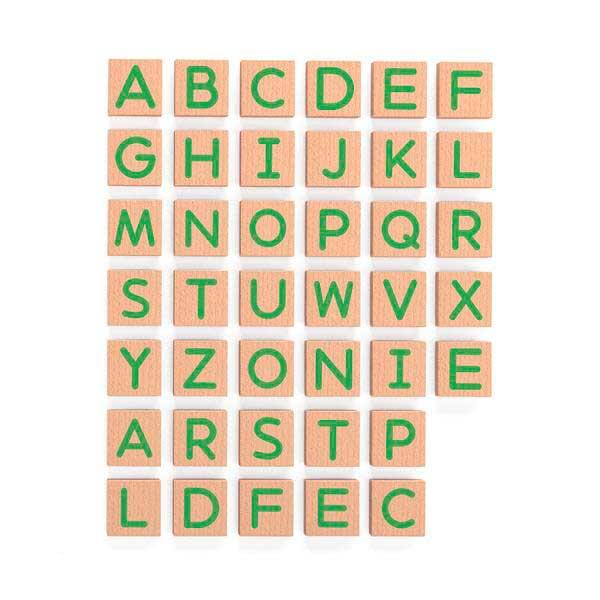 Набір магнітних літер Viga Toys Великі, 40 шт. (50588)