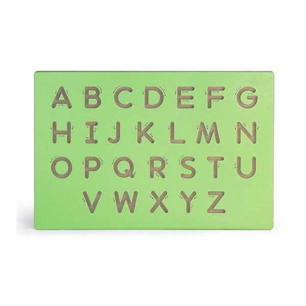 Дерев'яна дошка Viga Toys Написання великих літер (50857)