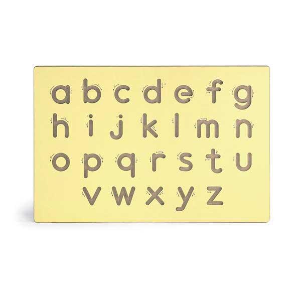 Дерев'яна дошка Viga Toys Написання малих літер (50858)