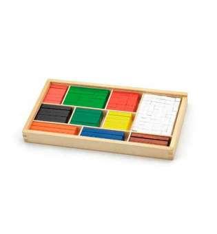 Набір для рахування Viga Toys Дерев'яні палички Кюїзенера, 308 шт. (56166)