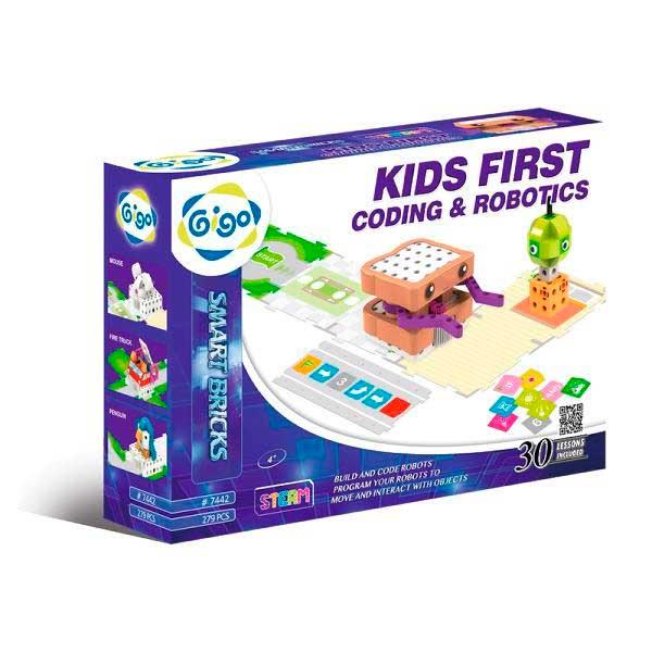 Конструктор для навчання дітей програмуванню Gigo Робототехніка для малюків (7442)