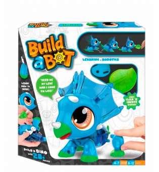 Ігровий набір конструктор Build a Bot: Dino Дракончик робот