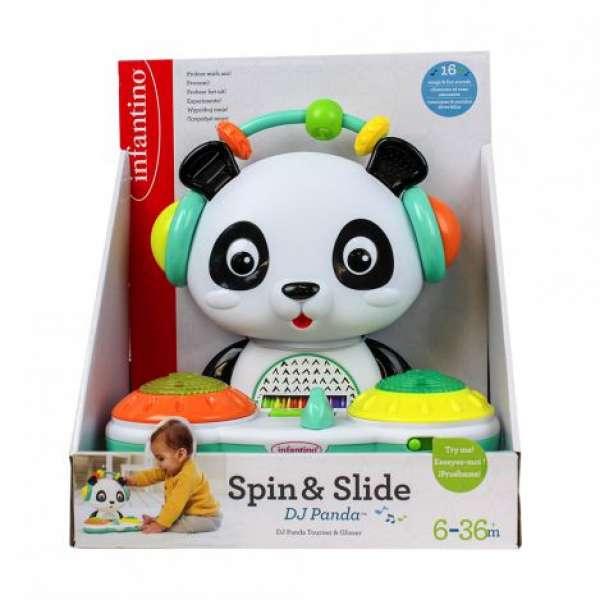 """INFANTINO Розвиваюча іграшка """"Діджей Панда"""""""