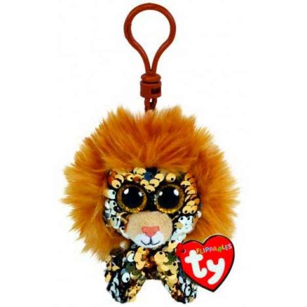 М'яка іграшка ty flippables лев 12 см