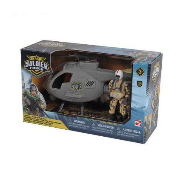 Chap Mei Ігровий Набір Солдати Patrol Helicopter, 545006