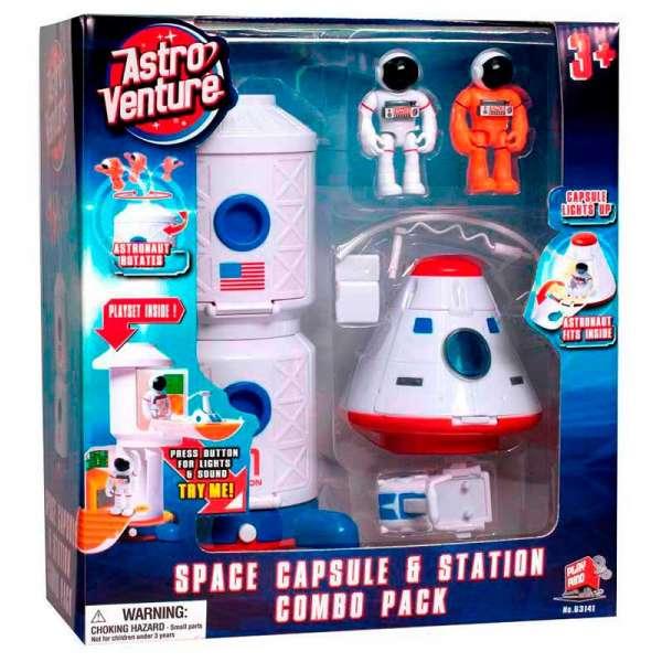 Ігровий набір космічна станція і капсула