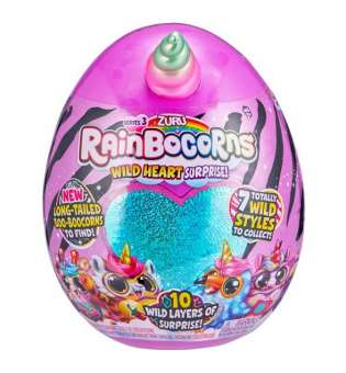 Дитяча м'яка іграшка-сюрприз в яйці Rainbocorns-A (серія 3)