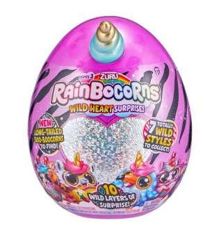 Дитяча м'яка іграшка-сюрприз для дівчинки Rainbocorns-B (серія 3)