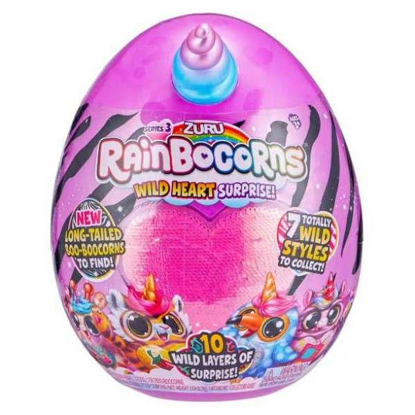 Дитяча м'яка іграшка-сюрприз для дівчинки зі слаймом Rainbocorns-E в яйці (серія 3)