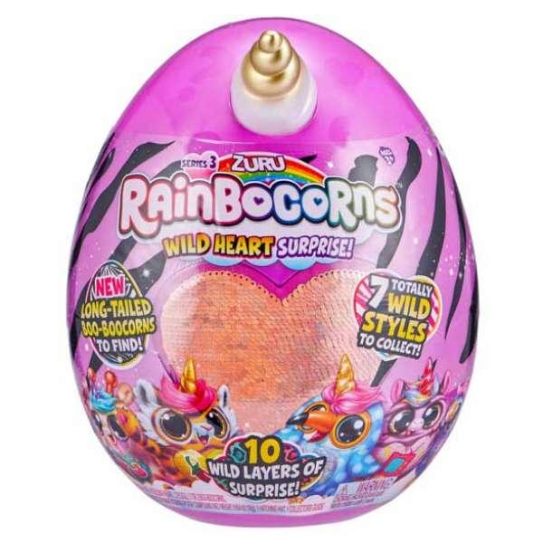 Дитяча м'яка іграшка-сюрприз Rainbocorns-G (серія 3)