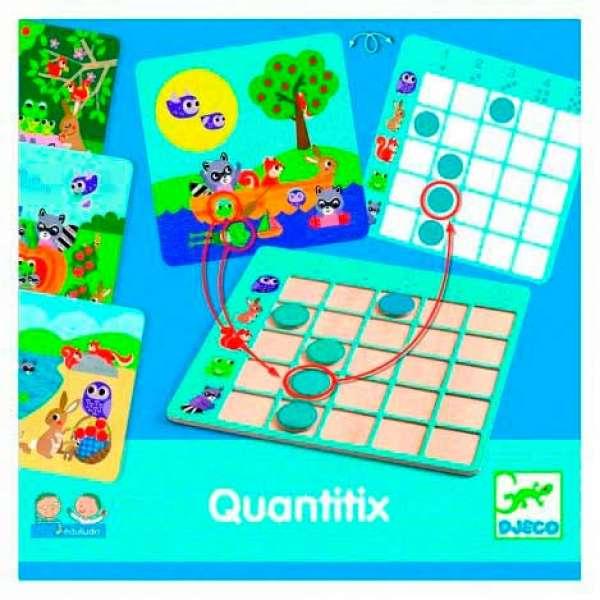 "DJECO Гра настільна ""Quantitix"""