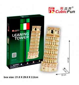 Cubicfun Тривимірна Головоломка-Конструктор Пізанська Вежа Серія Міні S3008H