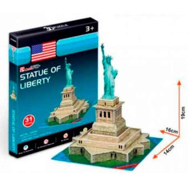 Cubicfun Тривимірна Головоломка-Конструктор Статуя Свободи Серія Міні S3026H