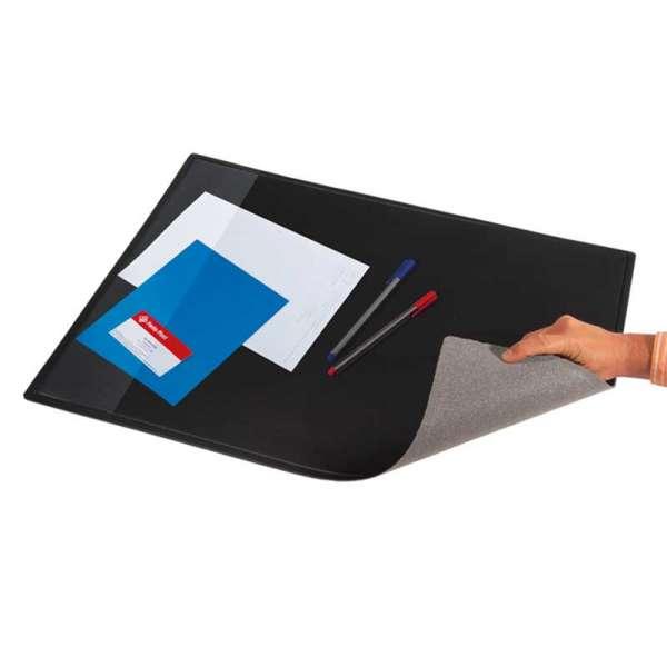 Підкладка для письма з кишенею, чорний
