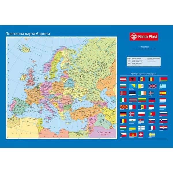 Підкладка для письма Карта Європи