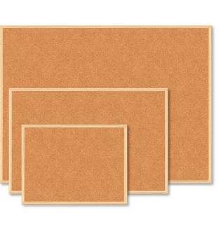 Дошка коркова, JOBMAX, 45x60 см, дерев'яна рамка