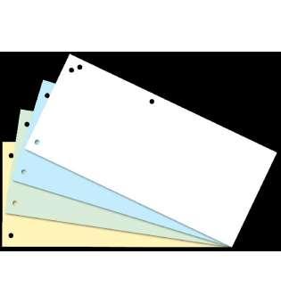 Індекс-розділювач 10,5х23см (100шт.), картон, асорті