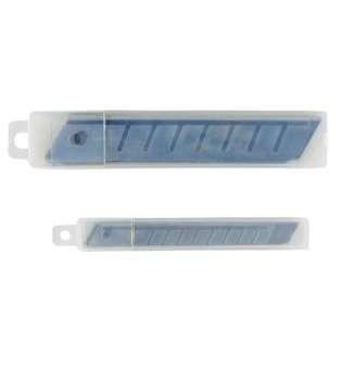 Леза для ножів, 9 мм (10 лез в упаковці)