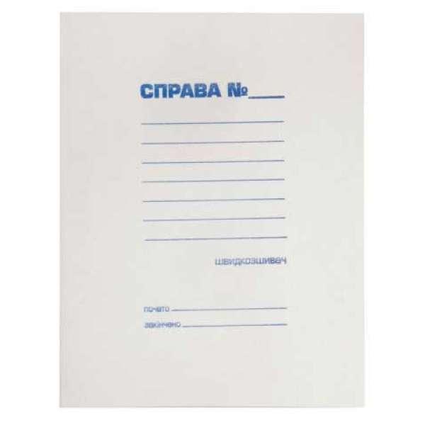 Папка - швидкозшивач СПРАВА, JOBMAX, А4, картон 0,3 мм