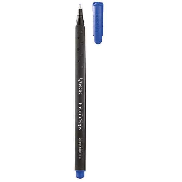 Лайнер GRAPH PEPS, 0.4мм, синій