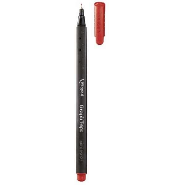 Лайнер GRAPH PEPS, 0.4мм, червоний