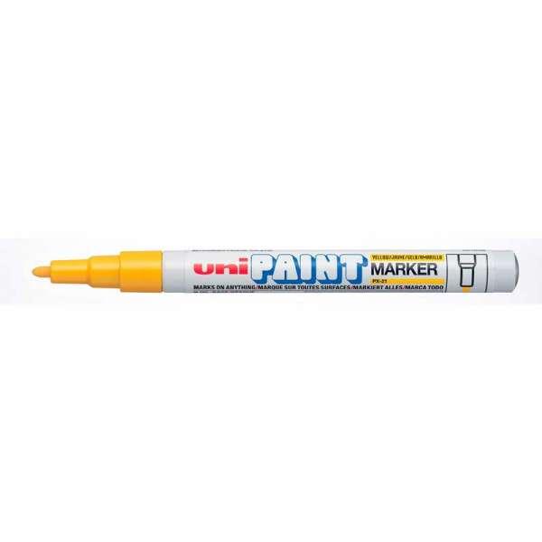 Маркер PAINT, 0.8-1.2мм, пише жовтим(ціна за 12шт.)(ціна за 12шт.)