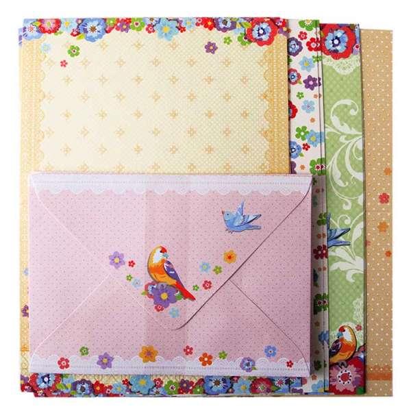 Заготовка для листівок з кольоровими конвертами Flight 10.5*14.8см