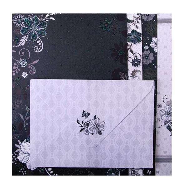 Набір заготовок для листівок з кольоровими конвертами FANCY