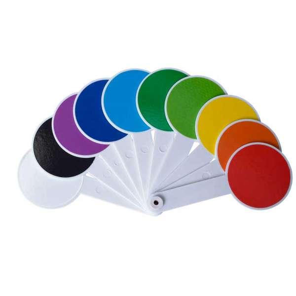 Набір кольорів та геометричних фігур (віяло), KIDS Line