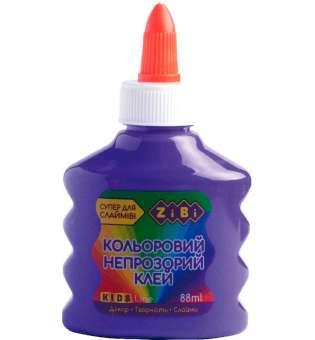 Клей (для слаймів) фіолетовий непрозорий на PVA-основі, 88 мл