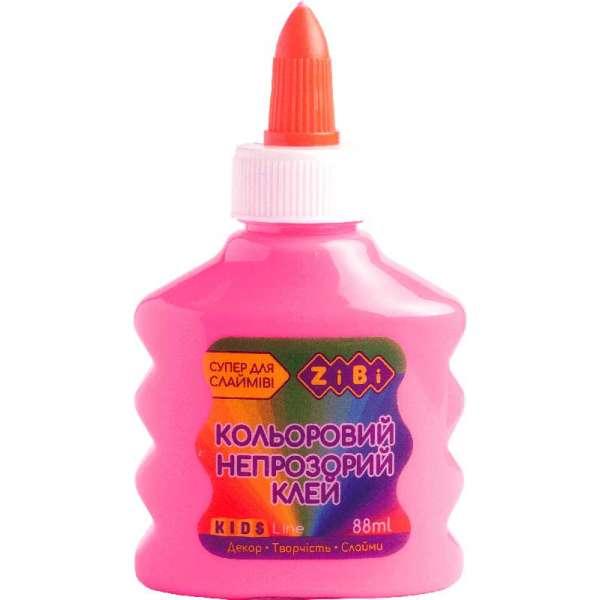 Клей (для слаймів) рожевий непрозорий на PVA-основі, 88 мл