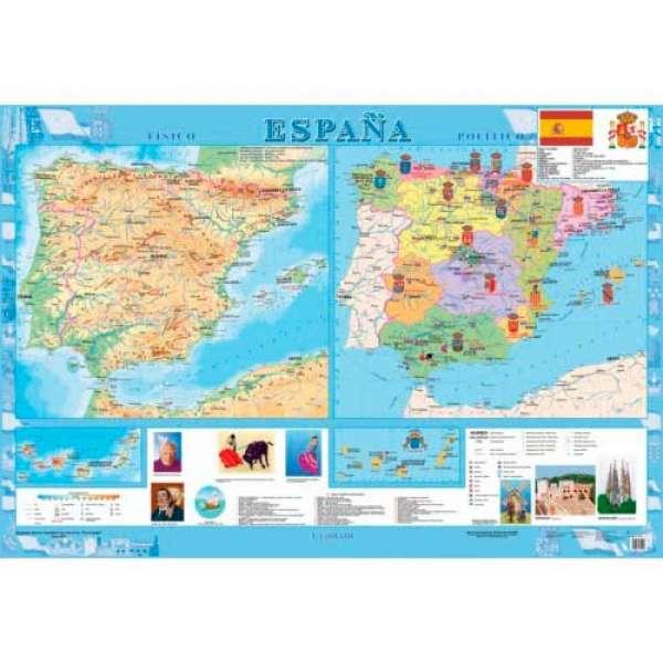 Espana (Іспанія) м-б 1:1 600 000