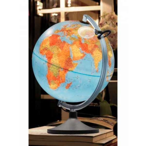 Рельєфний глобус Уранiо, діаметр 300 мм, російський