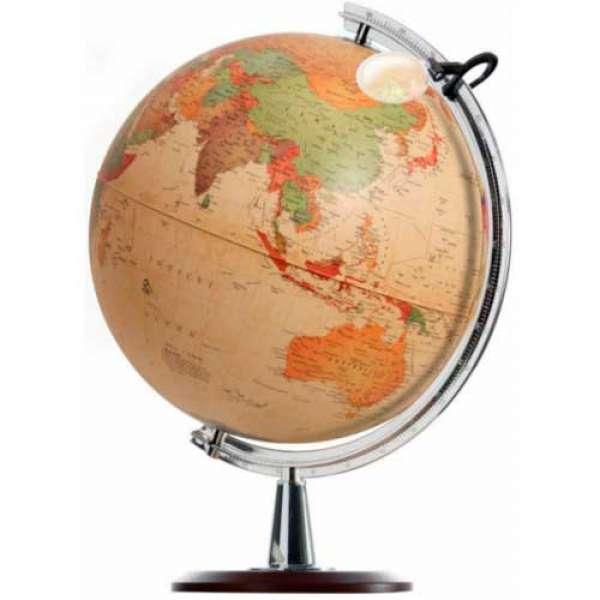 Глобус Коломбо, діаметр 400 мм, російський