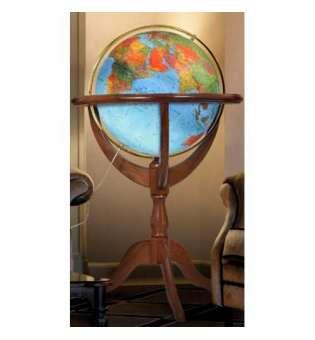 Фізичний глобус Jannine Blue, діаметр 500 мм, російський