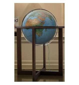 Фізичний глобус Cross Blue, діаметр 500 мм, російський