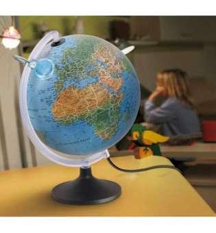 Глобус Люмірісімо, діаметр 300 мм, англійська мова