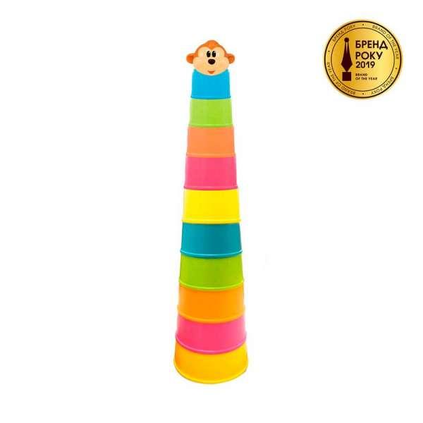 Ігровий Набір - Пірамідка Мавпочки