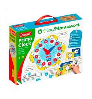 """Навчальний ігровий набір серії """"Play Montessori"""" - Перший годинник"""