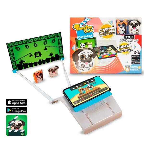 Ігровий Набір Для Анімаційної Творчості Toaster Pets - Студія Мультфільмів