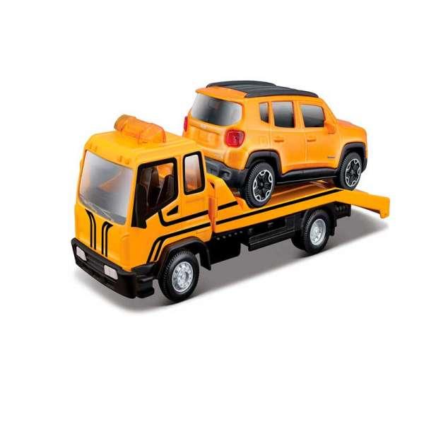 Ігровий набір - Евакуатор з автомоделлю Jeep Renegade