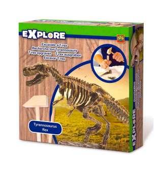 Набір Серії Дослідник - Розкопки Скелета Тиранозавра