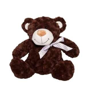 м'яка Іграшка - Ведмідь коричневий з бантом (40 См)
